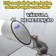 Válvula de retenção de esgoto