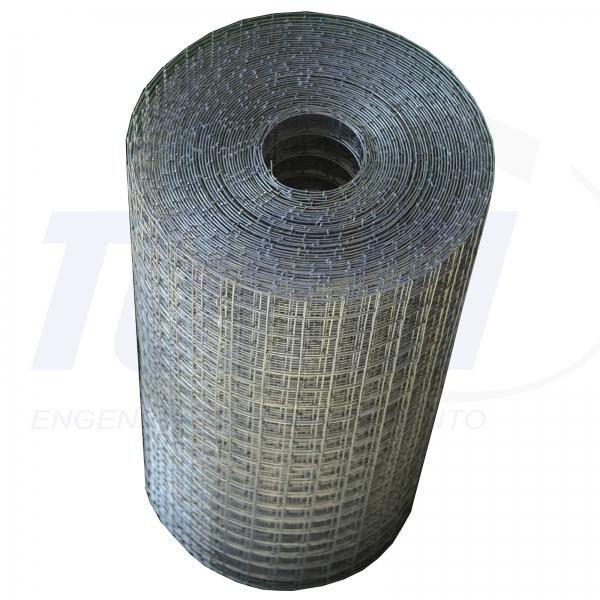 Tela eletrosoldada galvanizada para reboco