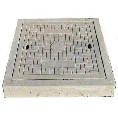 Caixilho de concreto com acabamento prime