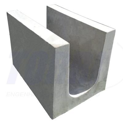Calha de concreto
